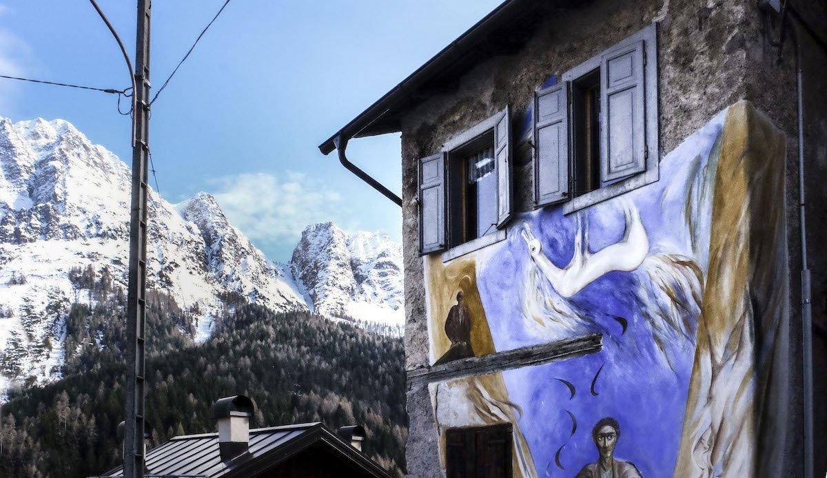 Cibiana di Cadore, quando la street art salva la storia - Veneto Secrets